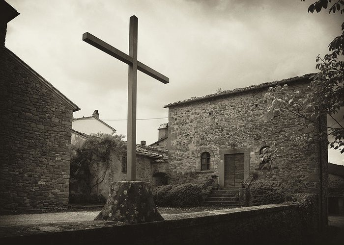 Pieve Di Santa Maria Alla Sovarra Greeting Card featuring the photograph Pieve Di Santa Maria Alla Sovarra by Hugh Smith