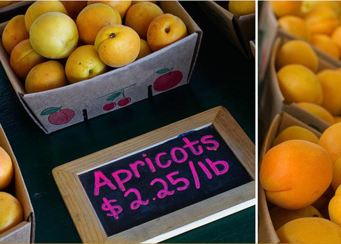 Apricots Greeting Card featuring the photograph Plump by Rebecca Cozart