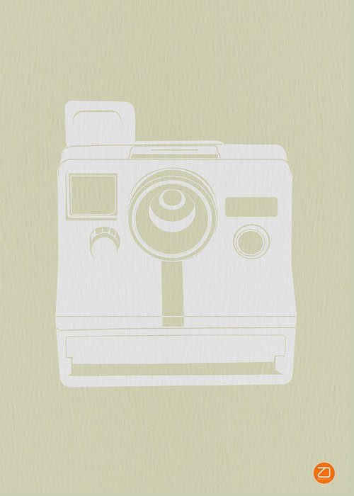 Greeting Card featuring the photograph Polaroid Camera 2 by Naxart Studio