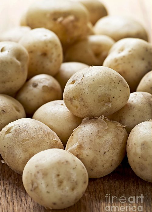 Potatoes Greeting Card featuring the photograph Potatoes by Elena Elisseeva