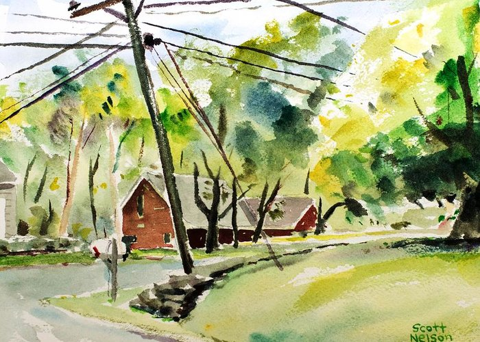 Keith Hill Road Greeting Cards