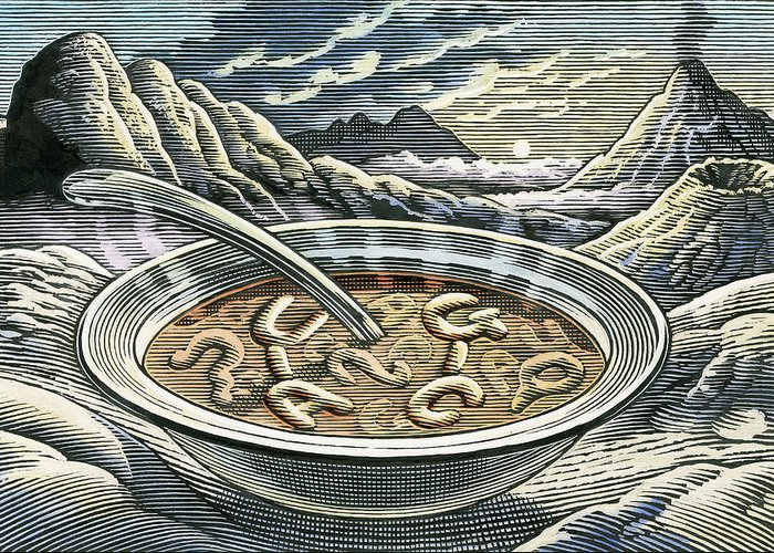 Rna Greeting Card featuring the photograph Primordial Soup by Bill Sanderson