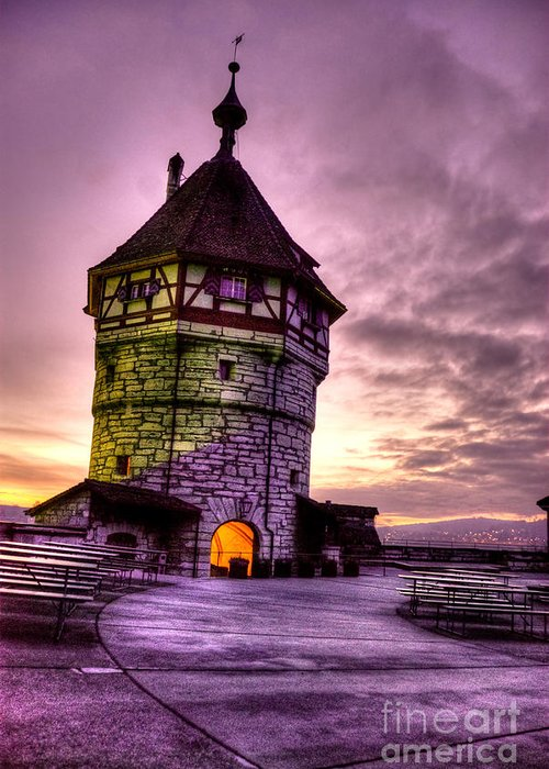 Switzerland Greeting Card featuring the photograph Princes Tower by Syed Aqueel