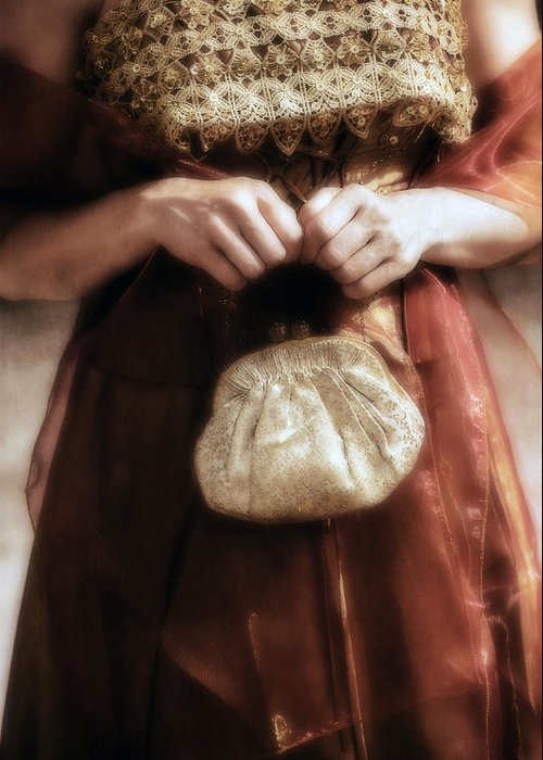 Female Greeting Card featuring the photograph Purse by Joana Kruse