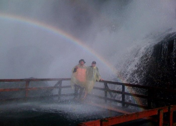 Greeting Card featuring the photograph Rainbow Crazy by Matthew Slowik