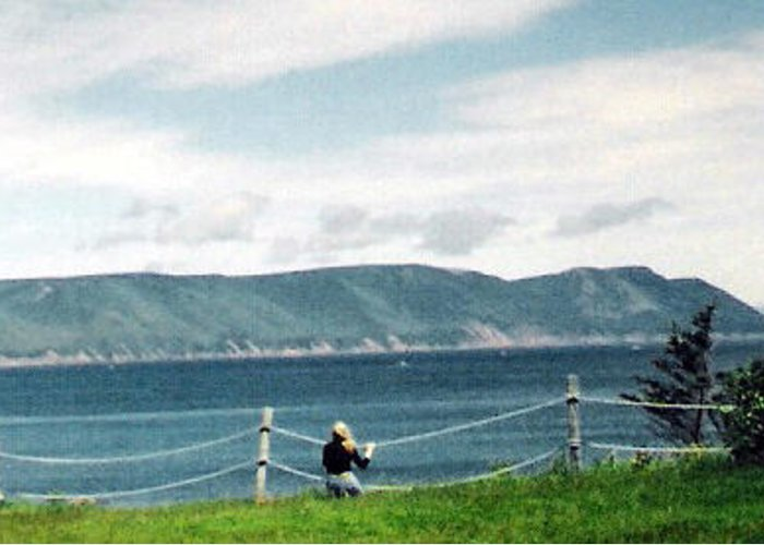Nova Scotia Greeting Card featuring the photograph Rapture by Christy Usilton