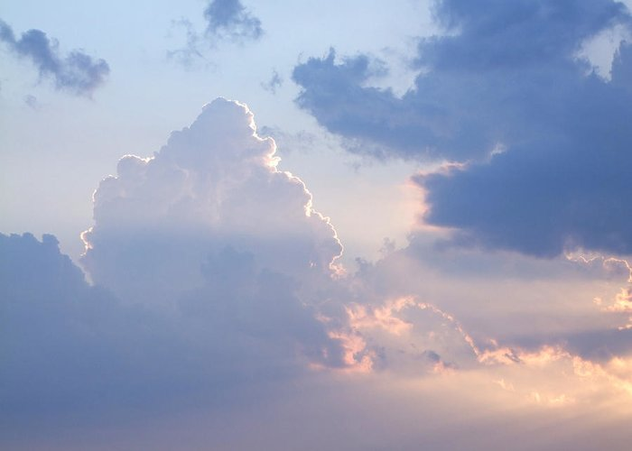 Sky Greeting Card featuring the photograph Reach For The Sky 4 by Mike McGlothlen