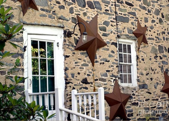 Entrance Greeting Card featuring the photograph Reach For The Stars by Living Color Photography Lorraine Lynch