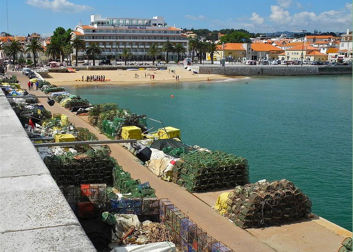 Cascais Greeting Card featuring the photograph Ready for Fishing Tomorrow by Kirsten Giving
