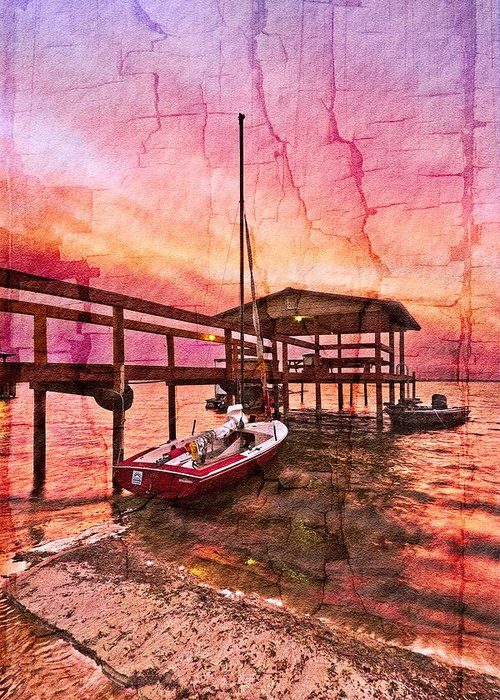 Boats Greeting Card featuring the photograph Ready To Sail by Debra and Dave Vanderlaan
