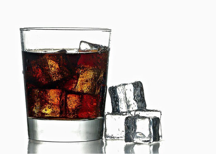 Background Greeting Card featuring the photograph Refreshment by Gert Lavsen