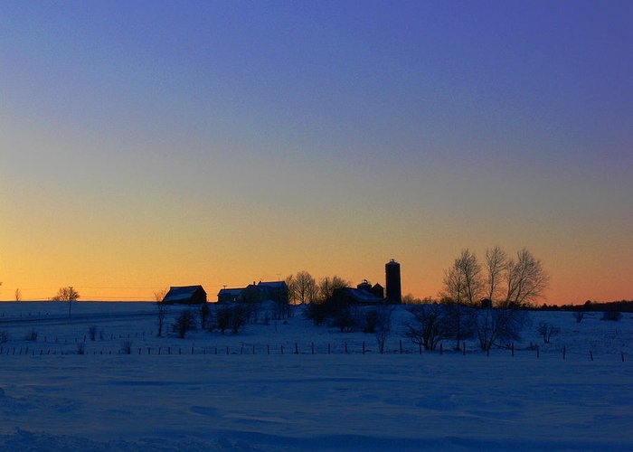 Sunset Greeting Card featuring the photograph Rest by Natalie LaRocque