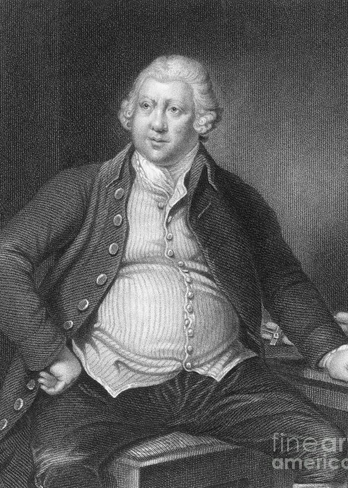History Greeting Card featuring the photograph Richard Arkwright, English Industrialist by Photo Researchers