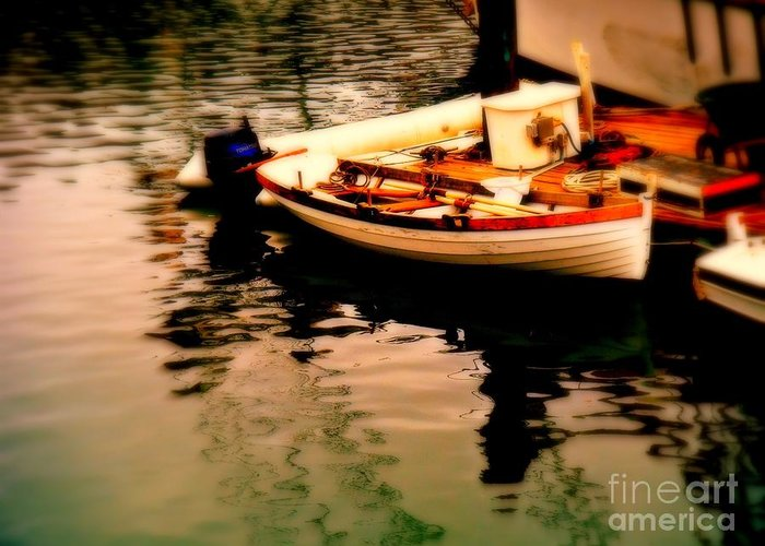 Boats Greeting Card featuring the photograph Ripples And Reflections by Kevin Moore