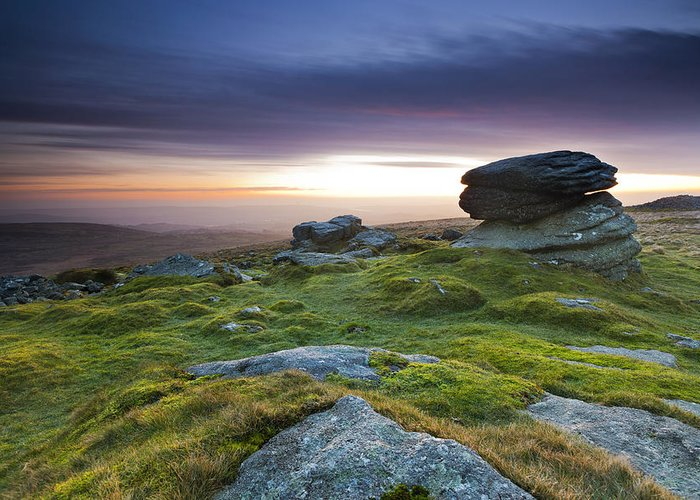 England Greeting Card featuring the photograph Rippon Tor II by Sebastian Wasek