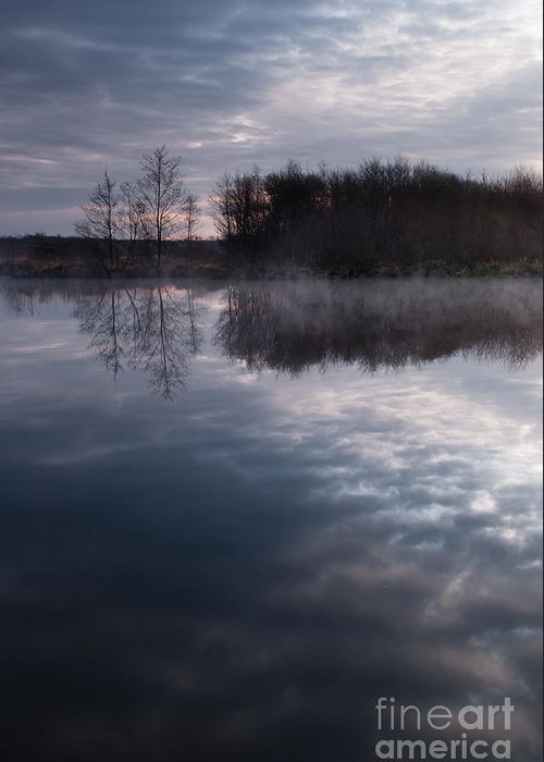 Lac Greeting Card featuring the photograph Road Clouds by David Gimenez Aldalur