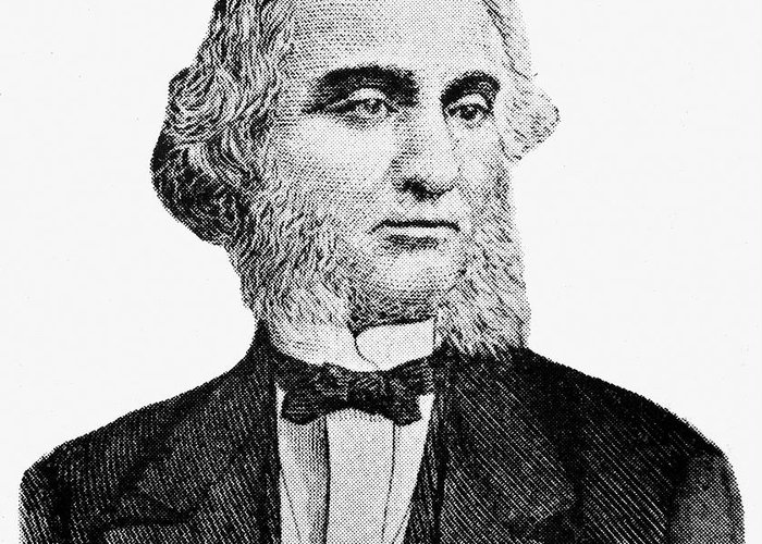19th Century Greeting Card featuring the photograph Robert Purvis (1810-1898) by Granger