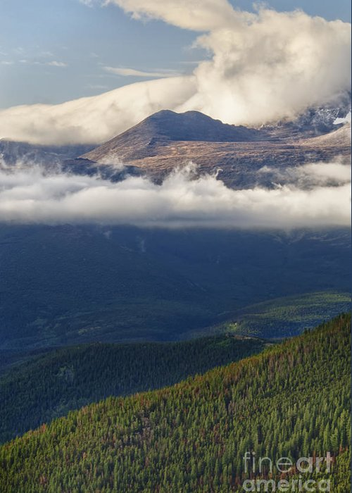 Rocky Mountain National Park Greeting Card featuring the photograph Rocky Mountain National Park Colorado by Andre Babiak