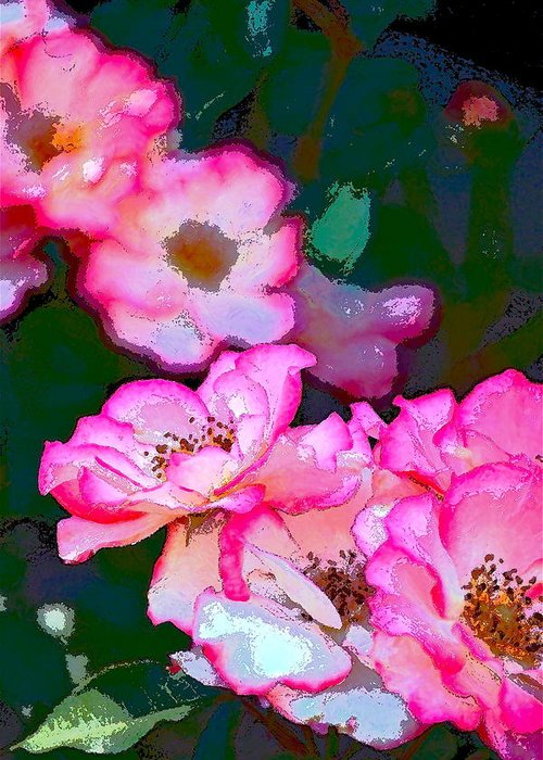 Floral Greeting Card featuring the photograph Rose 130 by Pamela Cooper