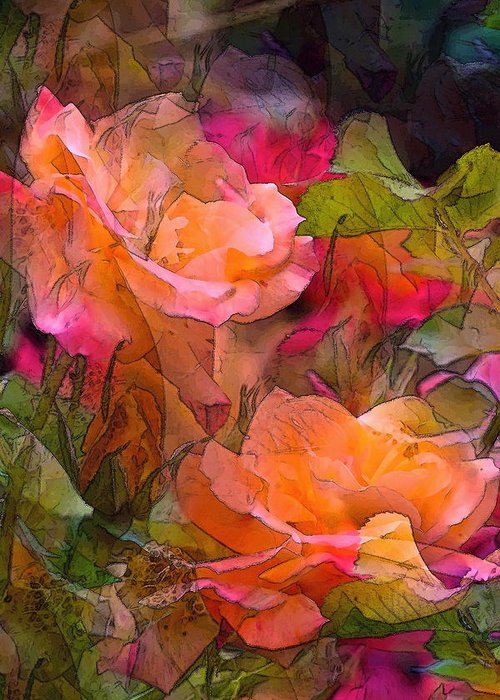 Floral Greeting Card featuring the photograph Rose 146 by Pamela Cooper
