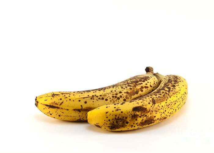 Banana Greeting Card featuring the photograph Rotten Bananas by Blink Images