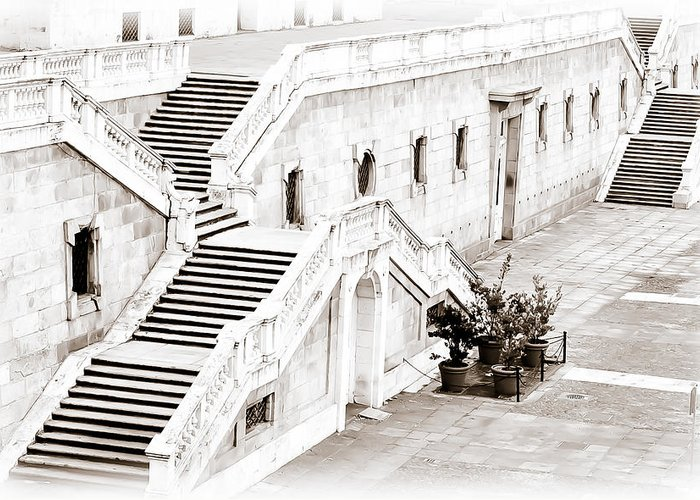 City Greeting Card featuring the photograph Royal Palace Madrid by Michael Braxenthaler