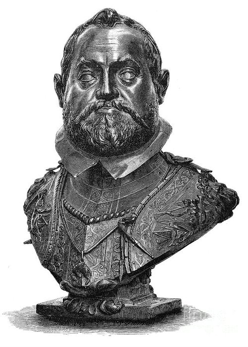 1607 Greeting Card featuring the photograph Rudolf II (1552-1612) by Granger
