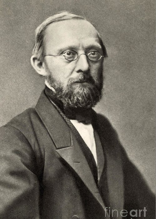 History Greeting Card featuring the photograph Rudolph Virchow, German Polymath by Photo Researchers