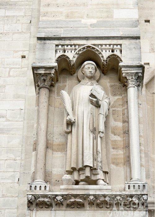Saint Greeting Card featuring the photograph Saint Stephen by Fabrizio Ruggeri