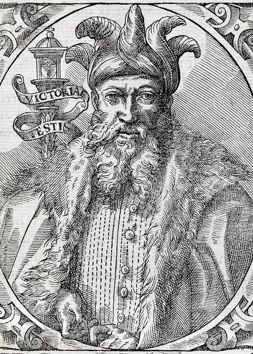 Saladin Greeting Card featuring the photograph Saladin, Sultan Of Egypt And Syria by Middle Temple Library