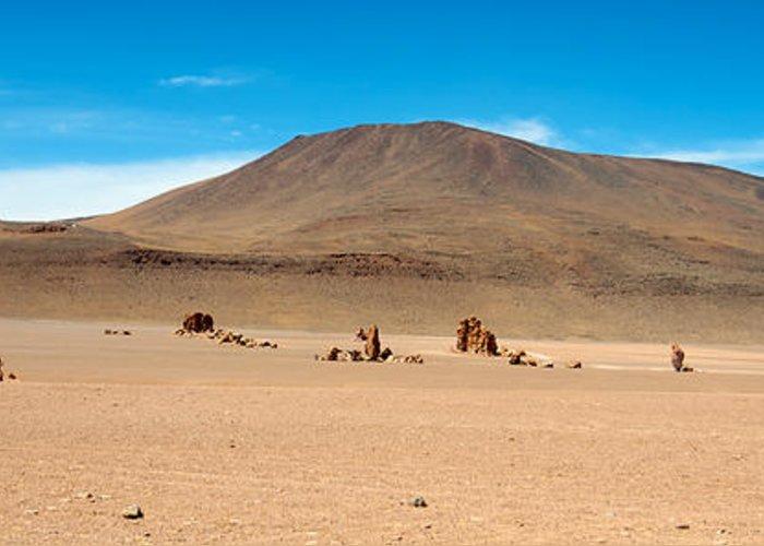 Atacama Greeting Card featuring the photograph Salar De Tara by Andre Distel