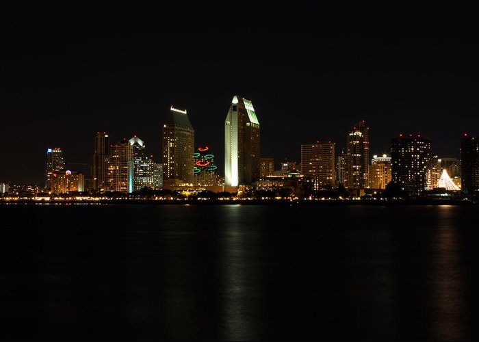 San Diego Greeting Card featuring the photograph San Diego by Steve Parr