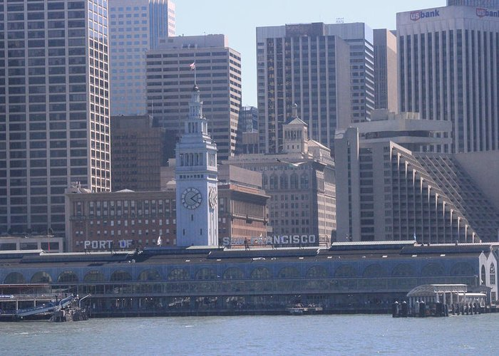 San Francisco Greeting Card featuring the photograph San Francisco Collection #20 by Raquel Amaral