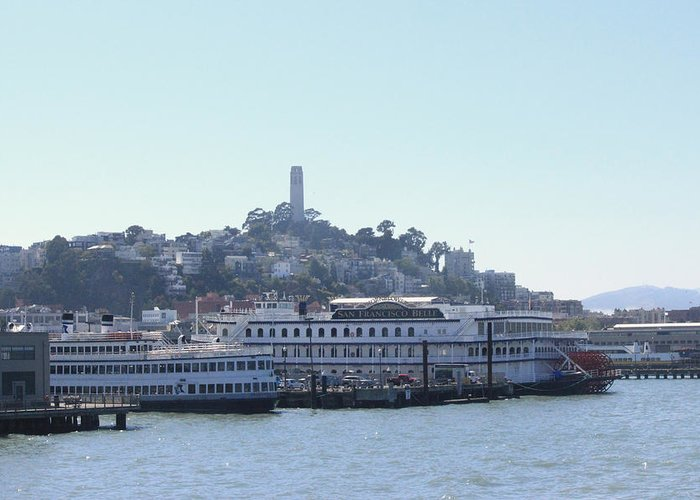 San Francisco Greeting Card featuring the photograph San Francisco Collection #26 by Raquel Amaral