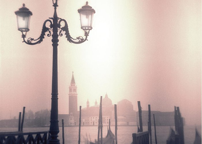 San Marco Greeting Card featuring the photograph San Giorgio Maggiore Seen From Venice by Janeen Wassink Searles