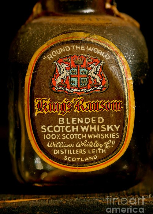 Scotch Whisky Greeting Card featuring the photograph Scotch Whisky by Mitch Shindelbower