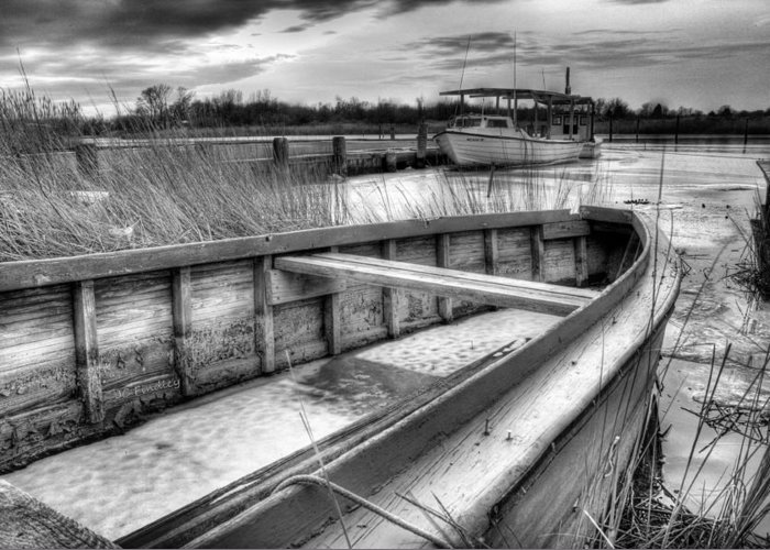 Seaworthy Greeting Card featuring the photograph Seaworthy by JC Findley