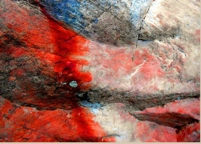 Abstract Expressionist Photographs Greeting Cards
