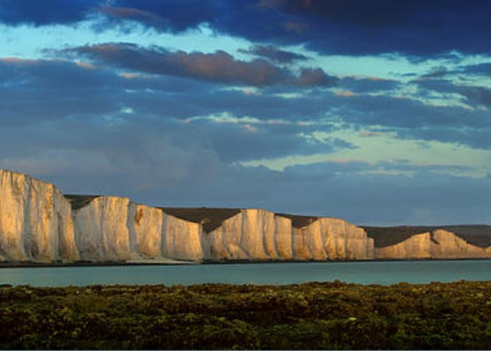 Seven Sisters Greeting Card featuring the photograph Seven Sisters Panorama by Mark Leader