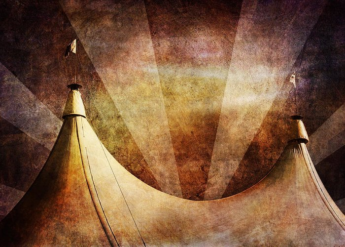 Circus Greeting Card featuring the photograph Showtime by Andrew Paranavitana