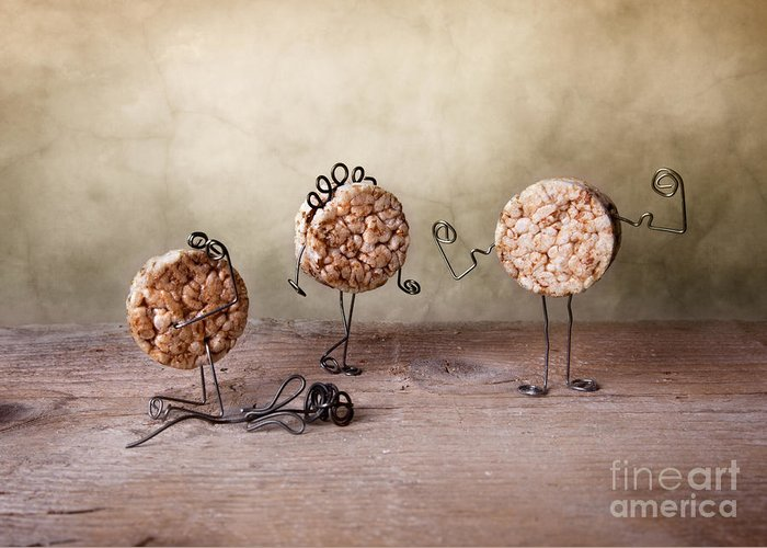 Body Greeting Card featuring the photograph Simple Things 07 by Nailia Schwarz