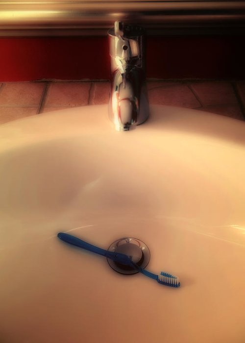 Sink Greeting Card featuring the photograph Sink by Joana Kruse