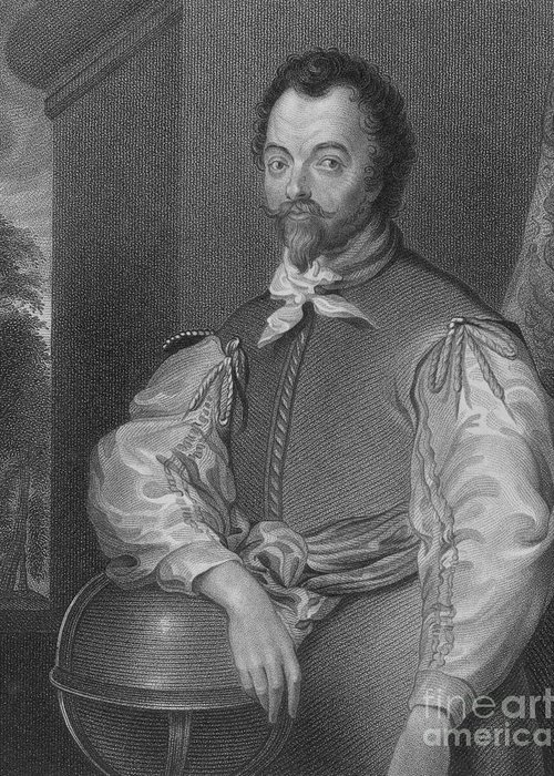 History Greeting Card featuring the photograph Sir Francis Drake, English Explorer by Photo Researchers