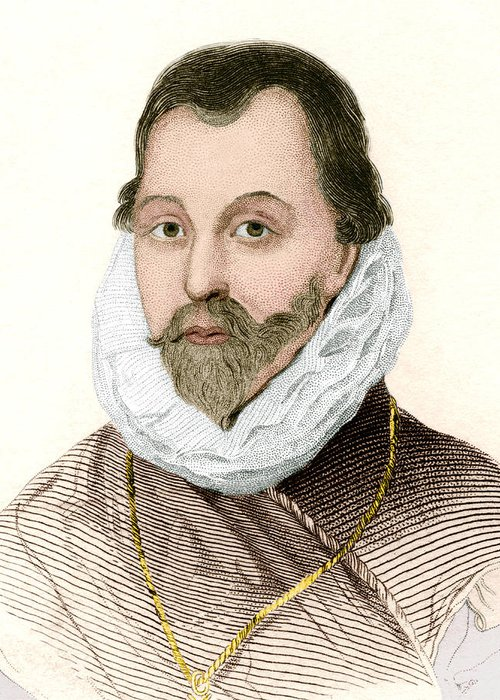 Drake Greeting Card featuring the photograph Sir Francis Drake, English Explorer by Sheila Terry