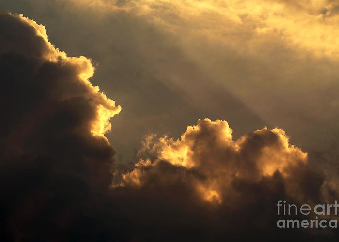 Nature Greeting Card featuring the photograph Sky by Odon Czintos