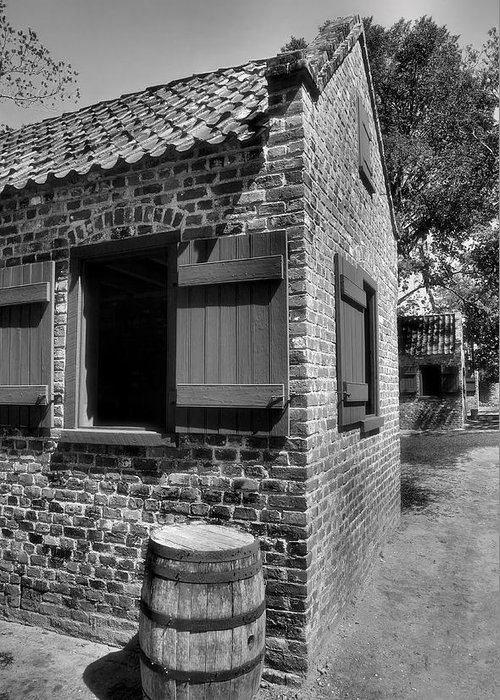 House Greeting Card featuring the photograph Slave Cabins by Steven Ainsworth