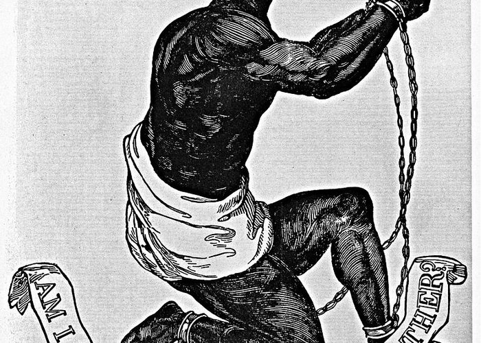 1835 Greeting Card featuring the photograph Slavery: Abolition, 1835 by Granger