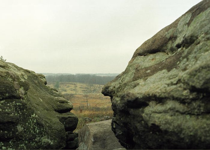Devils Den Greeting Card featuring the photograph Snipers Nest by Jan W Faul
