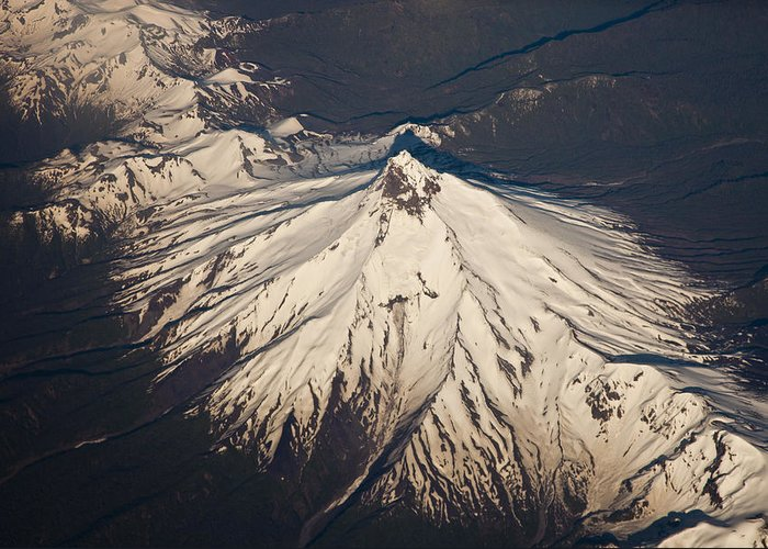 00479602 Greeting Card featuring the photograph Snowcovered Volcano Andes Chile by Colin Monteath