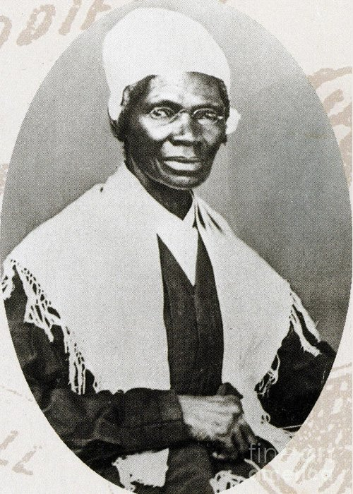 History Greeting Card featuring the photograph Sojourner Truth, African-american by Photo Researchers